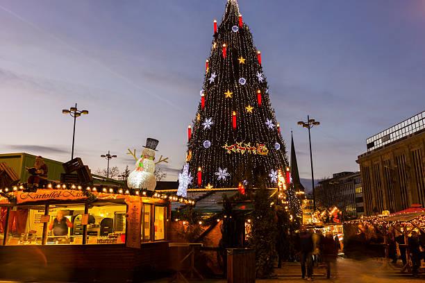 Weihnachtsbaum in Dortmund (Deutschland) – Foto