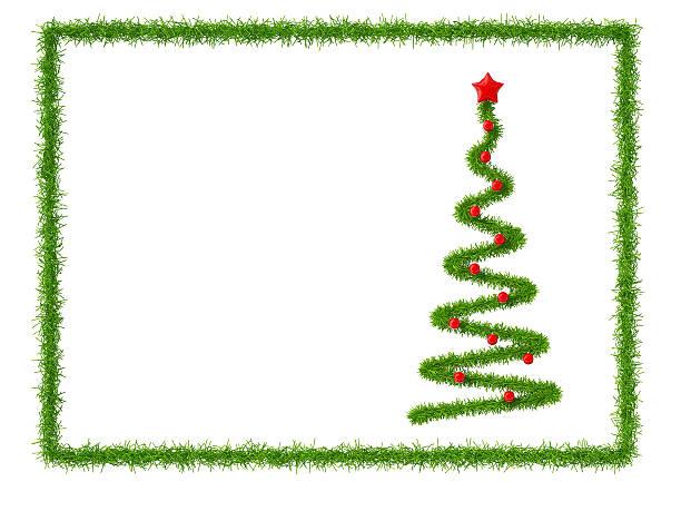 Weihnachtsbaum im frame – Foto