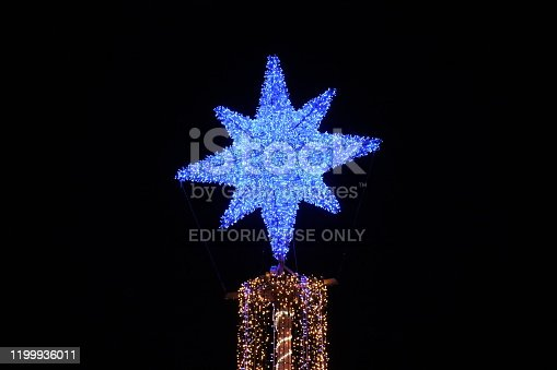 istock Christmas tree in Palma de Mallorca 1199936011