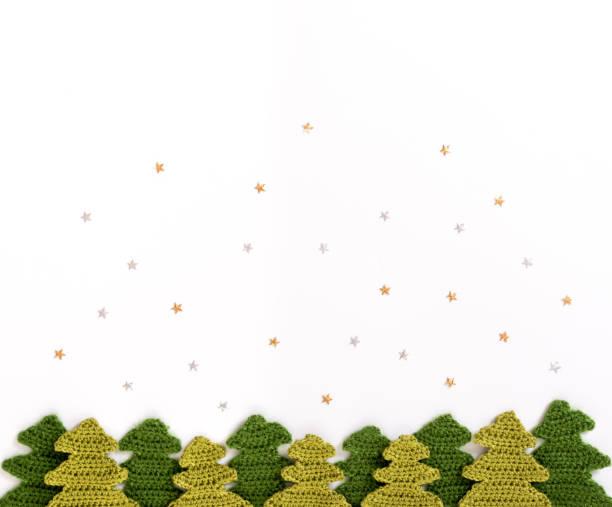 Patrones De Crochet De Navidad - Stock Fotos e Imágenes - iStock
