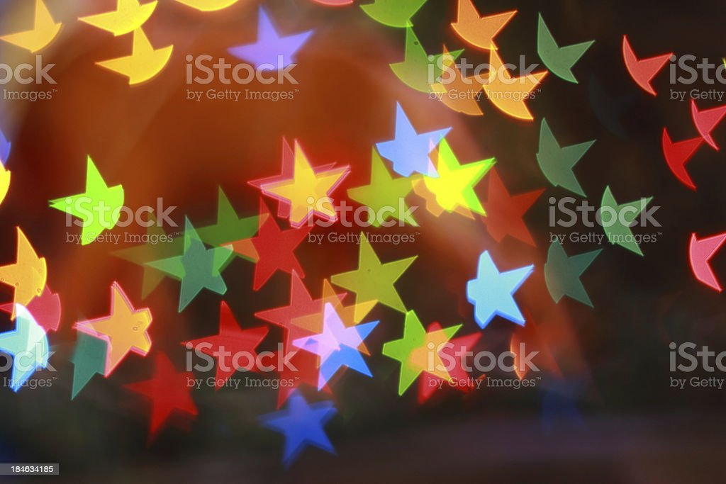 Christmas Tree Lights royalty-free stock photo