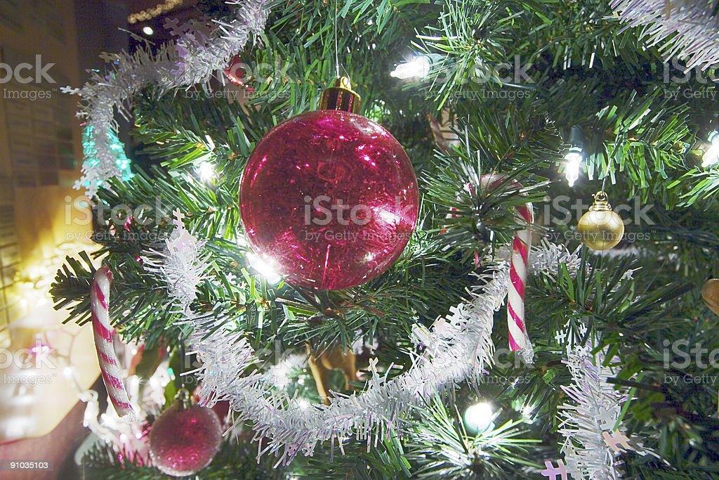 Christmas tree ornament. royalty-free stock photo