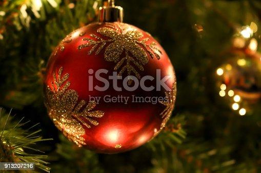istock Christmas Tree Ornament 913207216