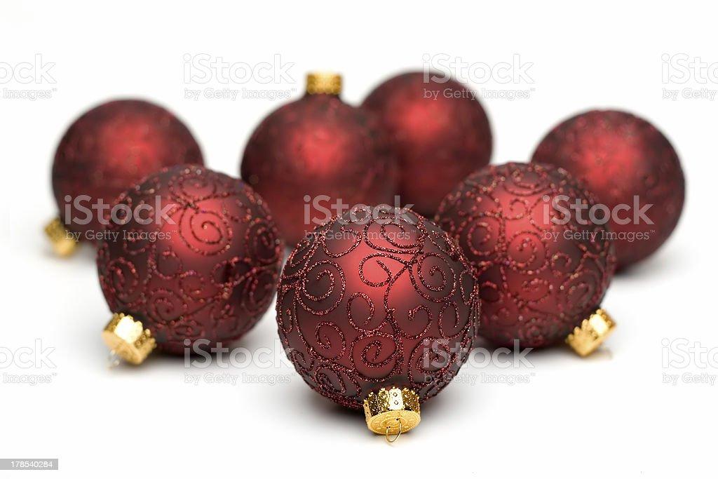 Christmas Tree Ornaments III royalty-free stock photo