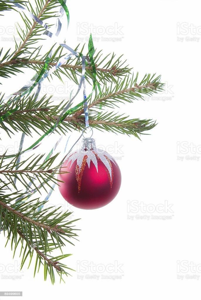 Christmas tree ornaments. royaltyfri bildbanksbilder