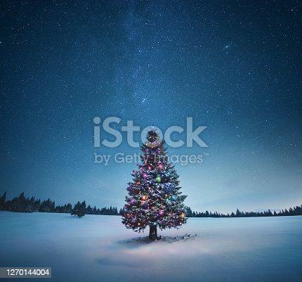 istock Christmas Tree 1270144004