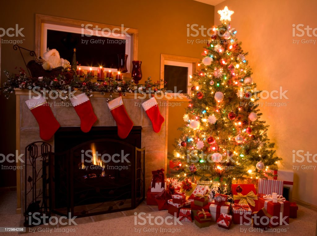 Christmas Tree (XXL) royalty-free stock photo