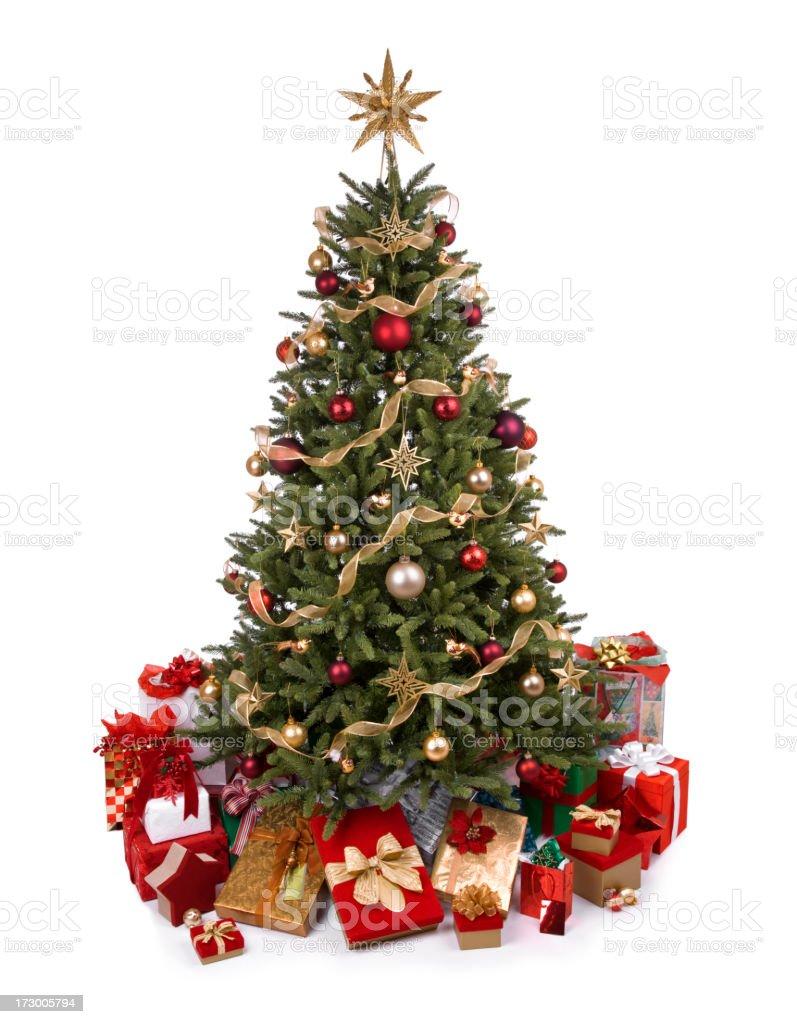 Christmas Tree (XXL) royalty-free stock photo