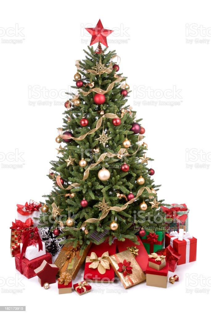 Árvore de Natal - foto de acervo