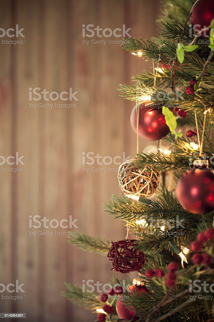Christmas Tree - Royalty-free Antique Stock Photo