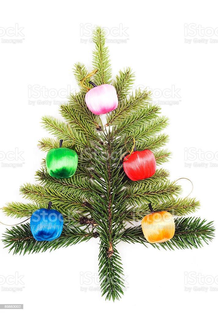 Рождественская ёлка Стоковые фото Стоковая фотография