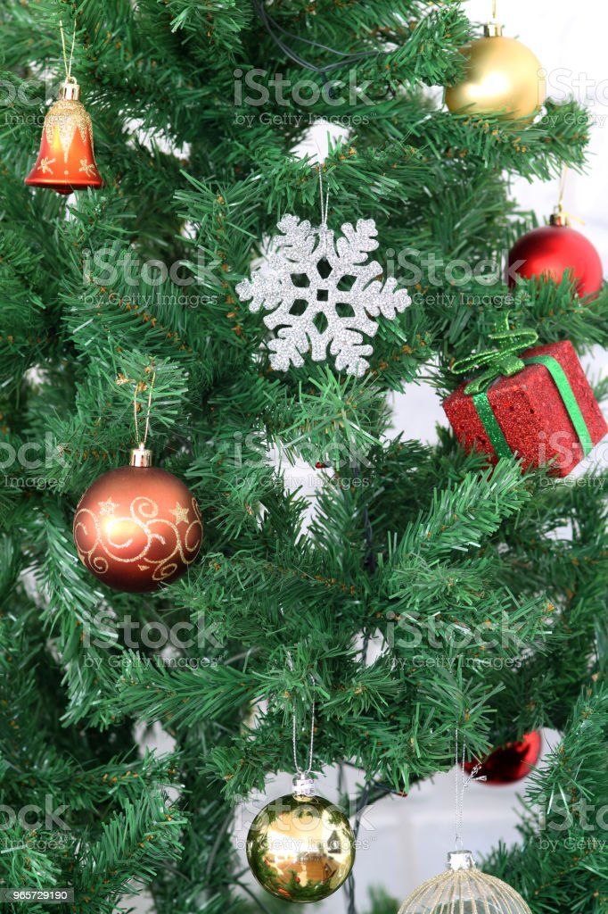 Christmas tree - Royalty-free Backgrounds Stock Photo