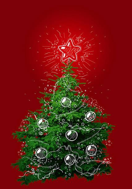Christmas Weihnachtsbaum – Foto