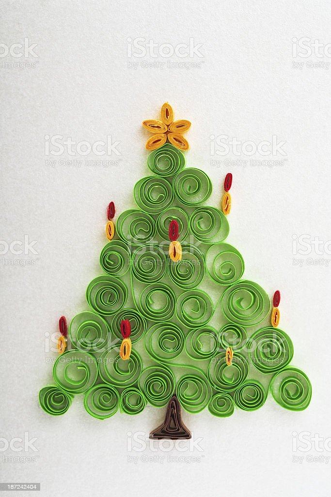 Albero Di Natale Quilling.Albero Di Natale Quilling Fotografie Stock E Altre Immagini Di 2013 Istock