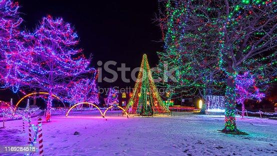 christmas tree rotary lights lacrosse wisconsin