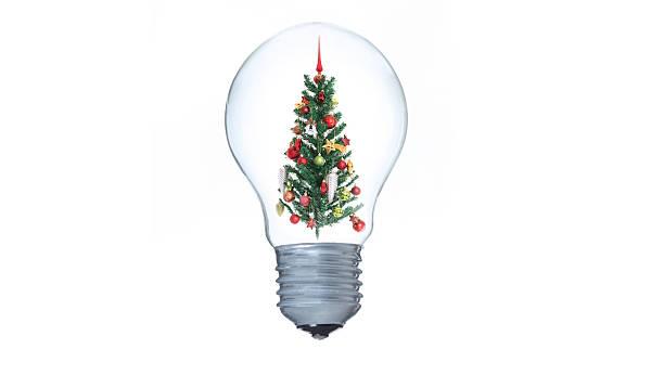 Weihnachtsbaum -Stock Bild – Foto