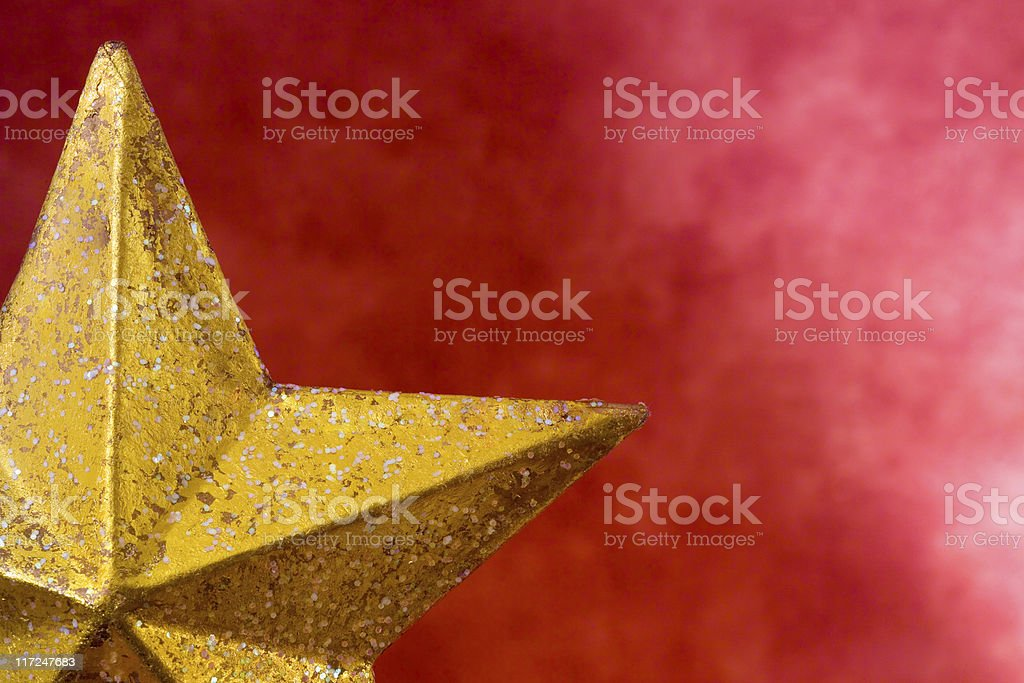 Christmas tree topper royalty-free stock photo