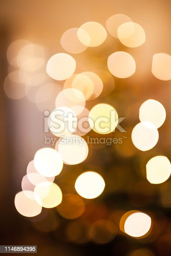 christmas tree with decoration and candles
