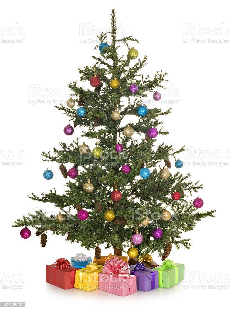 Albero Di Natale Con Regali.Albero Di Natale Con Regali Fotografie Stock E Altre Immagini Di Abete Istock