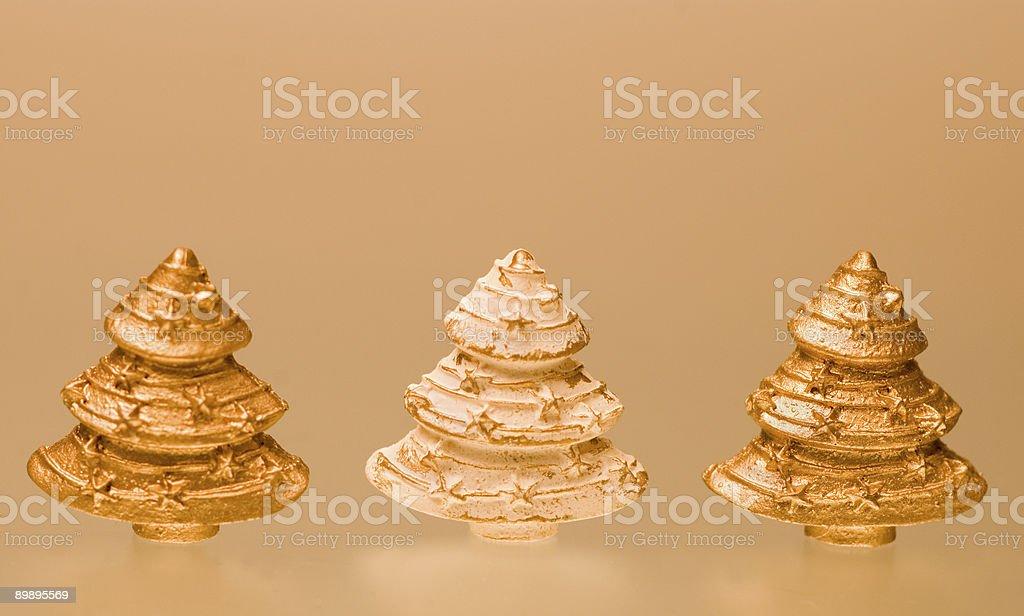 Weihnachtsbäume Lizenzfreies stock-foto