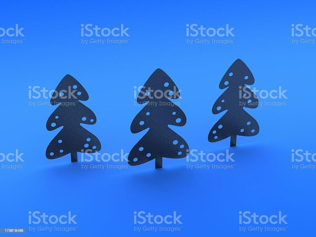 Christmas Trees XXL stock photo
