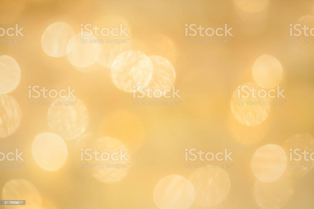 Weihnachten Funkelnde Lichter Bokeh Metallicgold - Stockfoto | iStock
