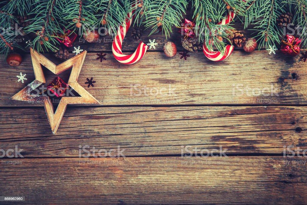 Navidad fondo Vintage - foto de stock