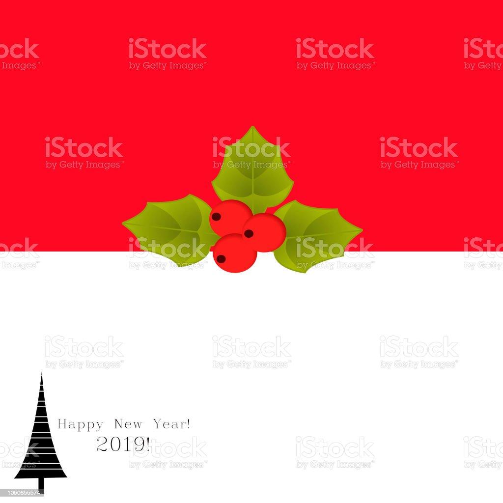 Christmas vintage post card stock photo