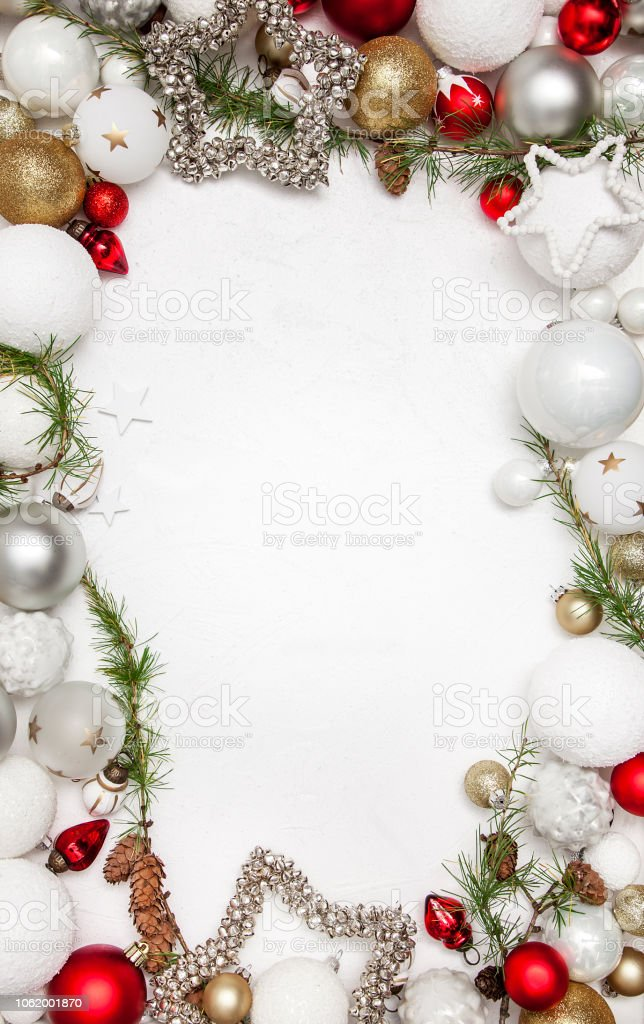2019 Weiße Weihnachten.Weiße Weihnachten Holz Hintergrund Mit Weihnachtsdekoration