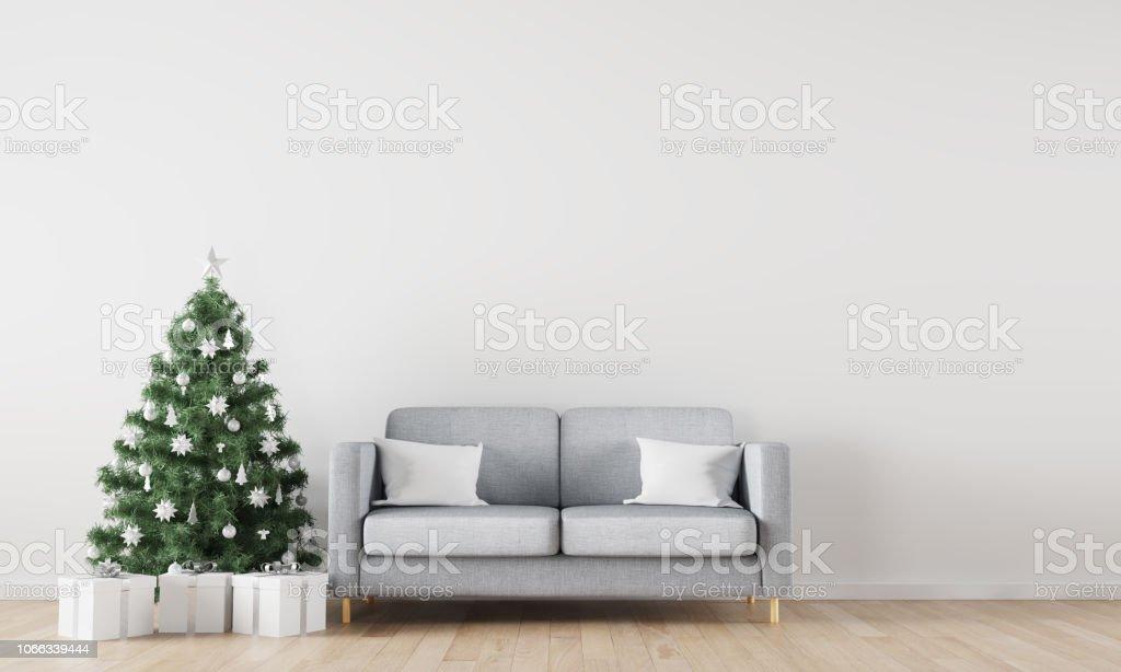 Weihnachten Winter Dekoration Interieur Hintergrund Stockfoto und mehr  Bilder von Bildhintergrund