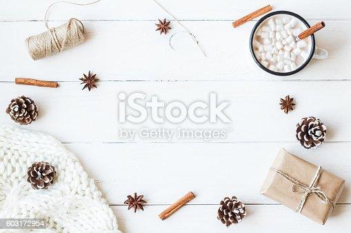 istock Christmas. Winter. Hot chocolate 603172954