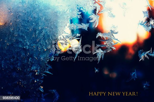 istock christmas, winter, snow, white, snowflake, cold, window, frost, 938395400