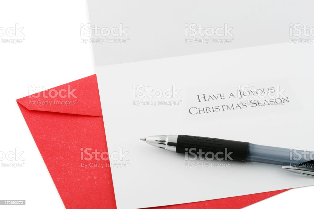 Christmas Wishes royalty-free stock photo