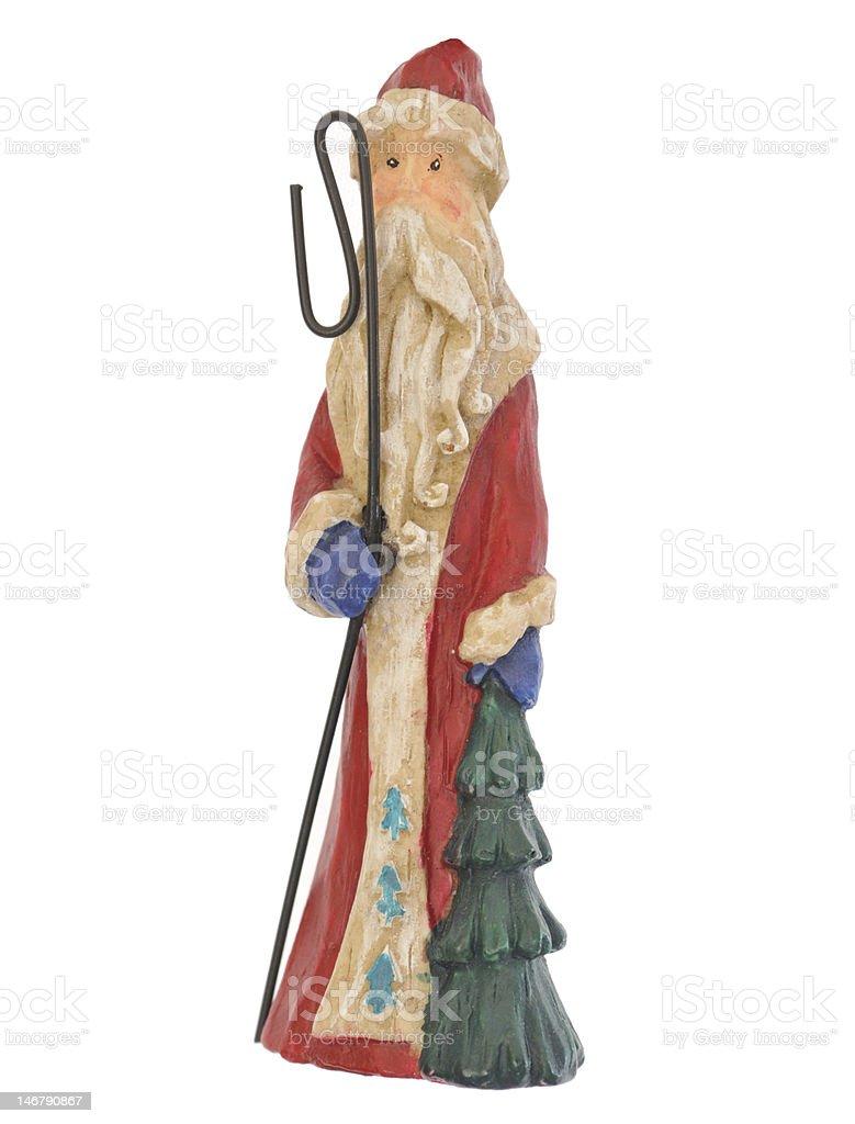 Christmas wizard stock photo