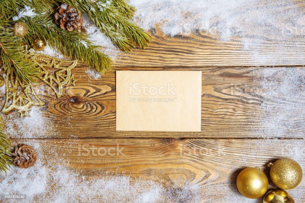 Weihnachtsmotive Zum Kopieren.Weihnachten Aus Holz Hintergrund Mit Zweigen Der Weihnachtsbaum Und
