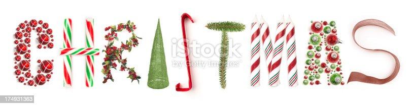 istock Christmas Word 174931363