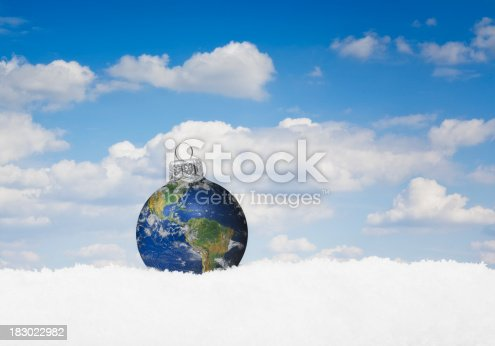 istock Christmas World Bauble 183022982