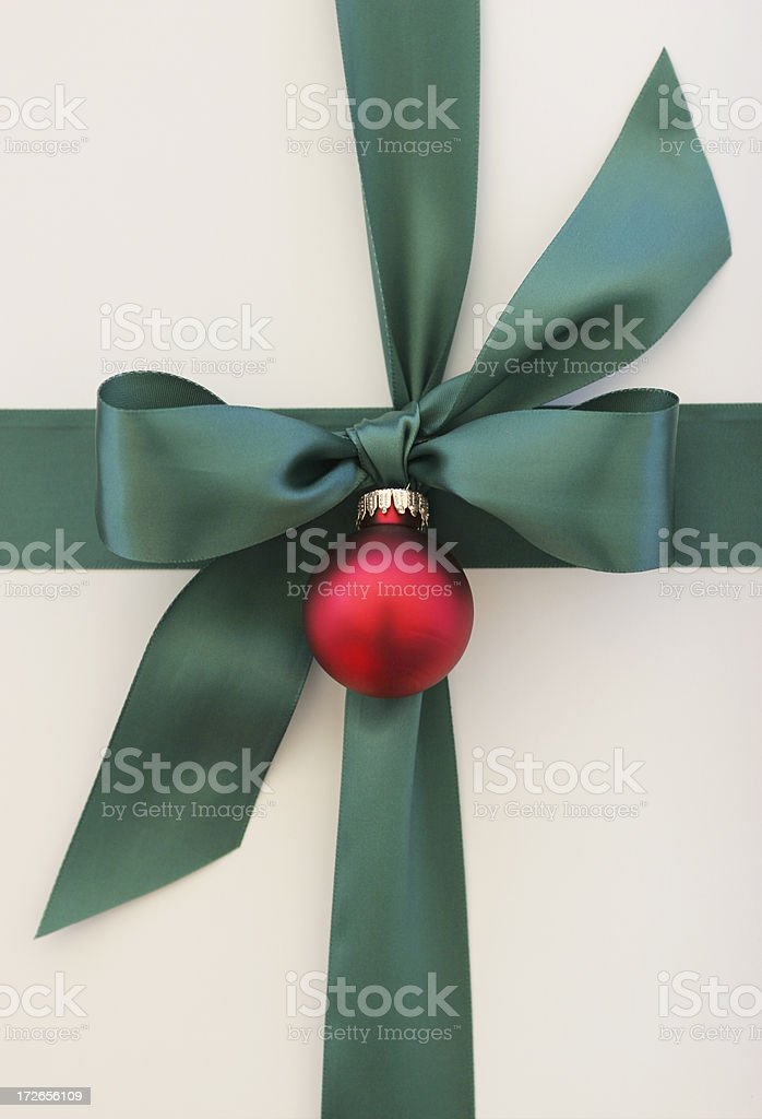 Christmas wrap royalty-free stock photo