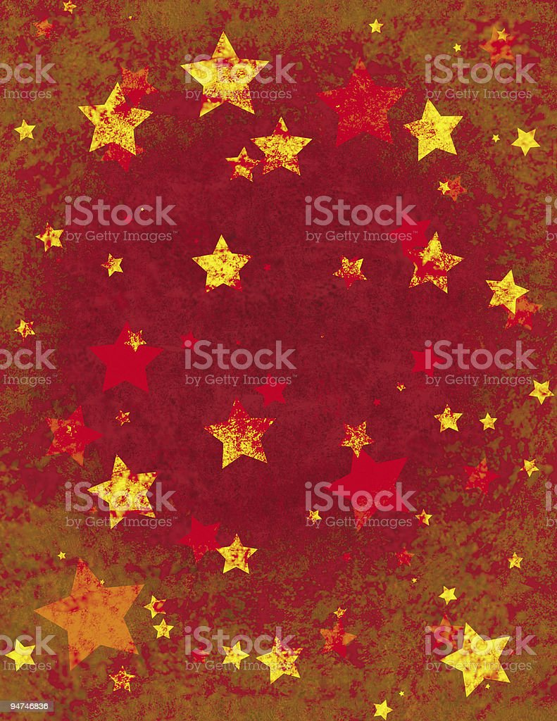 Christmas Wrapping Paper Design royalty-free stock photo