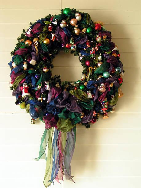 Christmas Wreath 2 stock photo