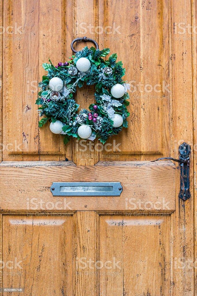 Christmas wreath, Decoration Christmas foto de stock royalty-free