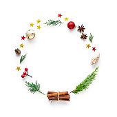 istock Christmas wreath 1170063682