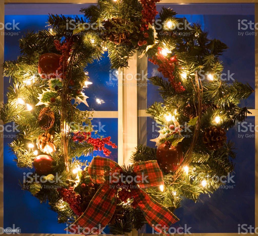 Weihnachtskranz – Foto