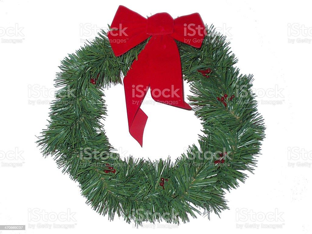 Christmas Wreath royalty-free stock photo