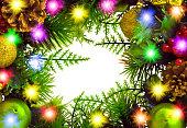 istock Christmas wreath 622192756