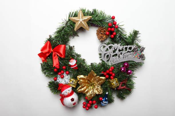 weihnachtskranz - weihnachten vietnam stock-fotos und bilder