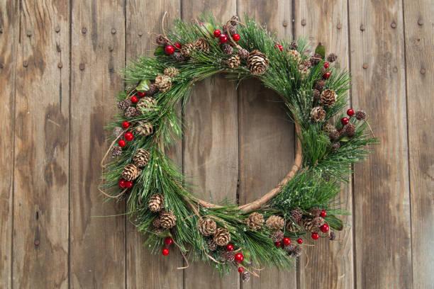 クリスマスのリース - リース ストックフォトと画像