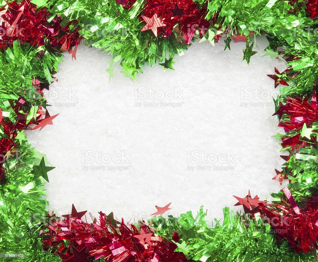 Christmass frame royalty-free stock photo