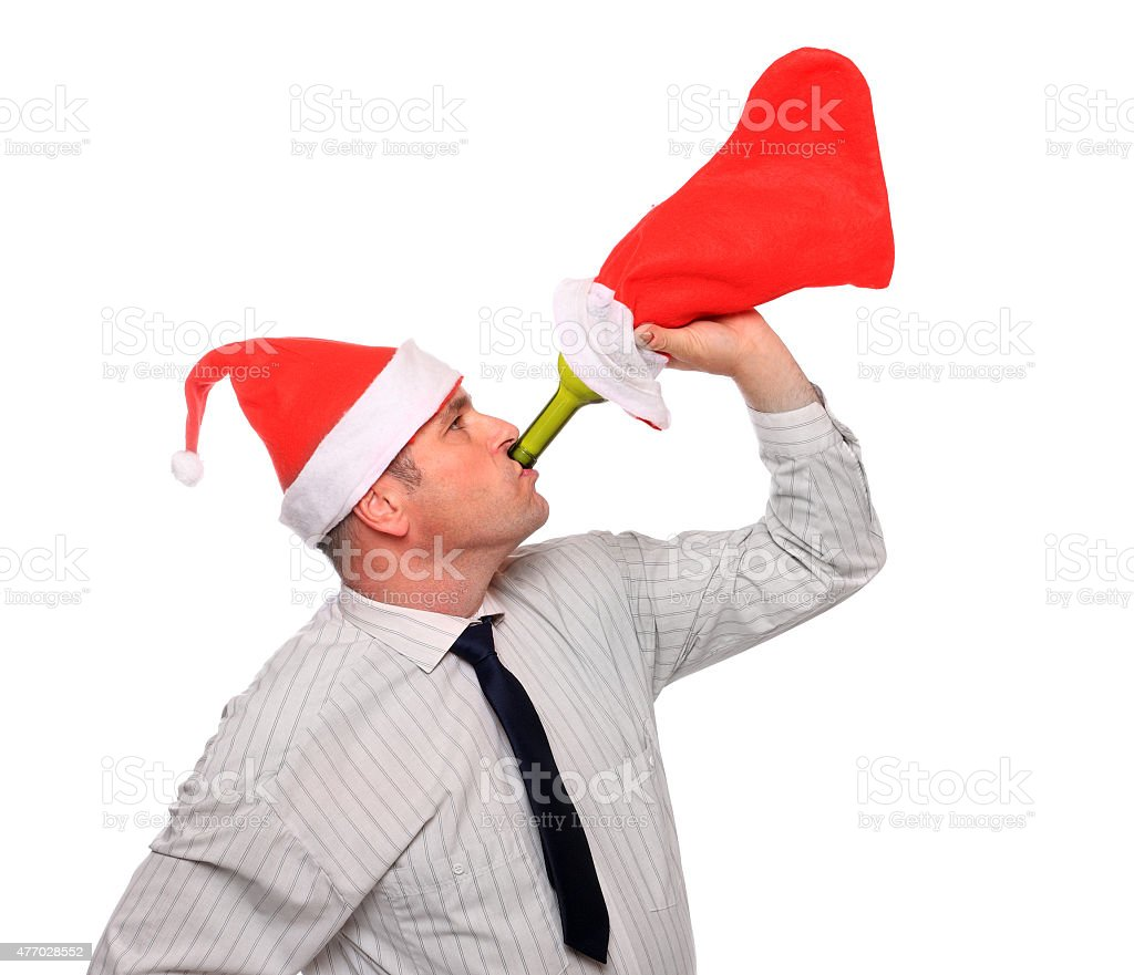 Christmass party. stock photo