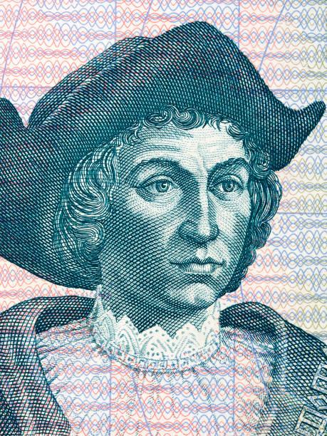 Christopher Columbus ein Porträt – Foto